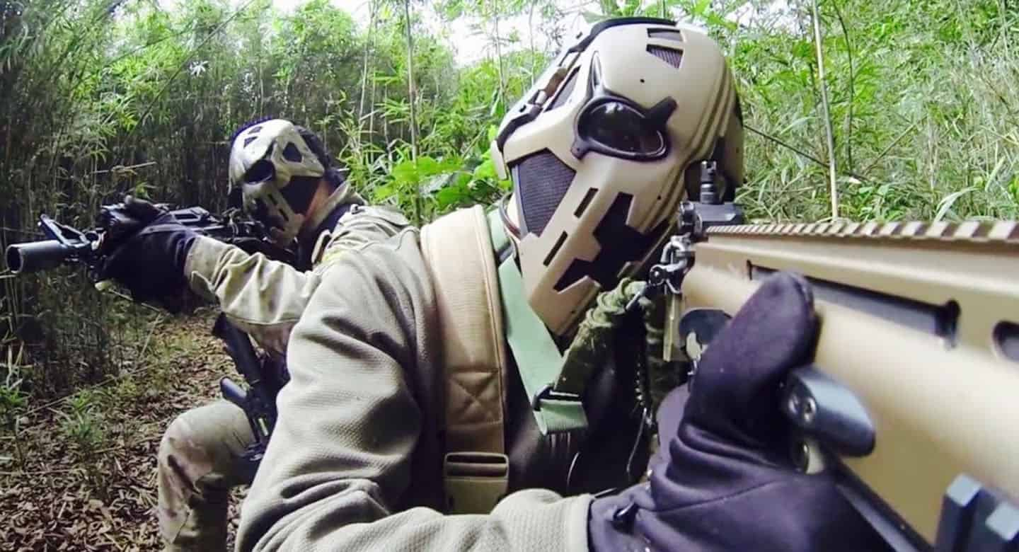 full face airsoft helmets