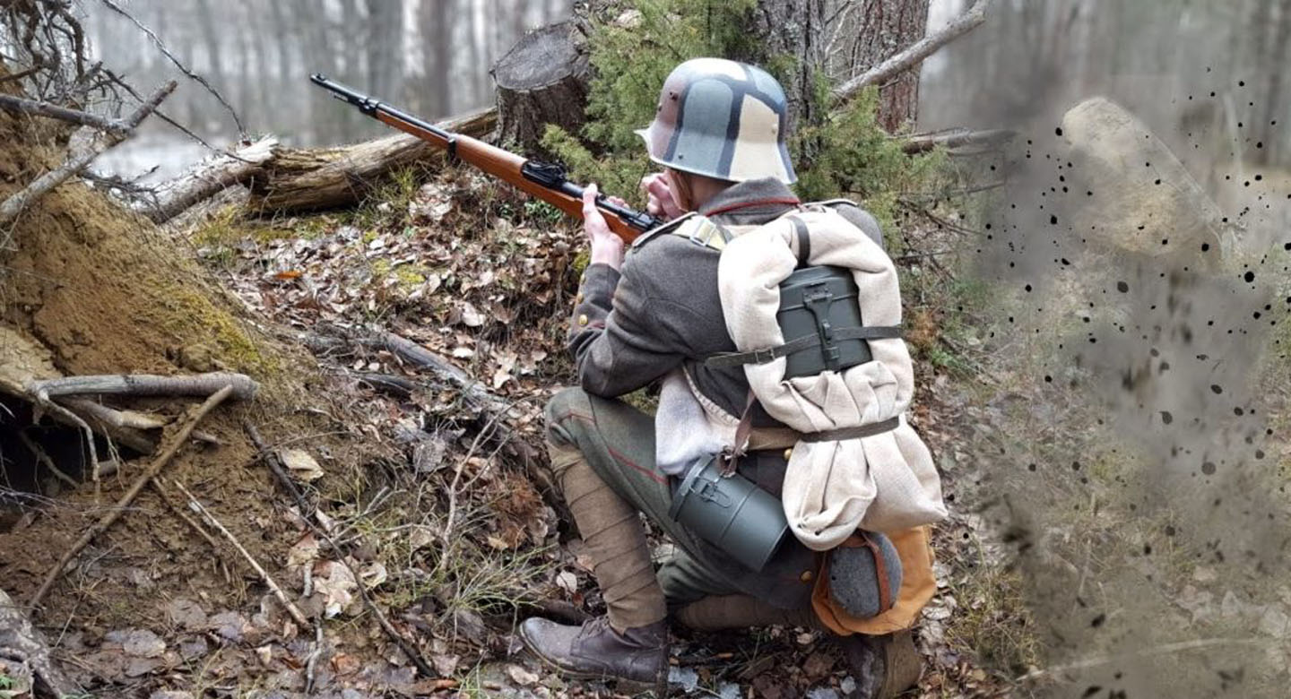 ww2 airsoft player
