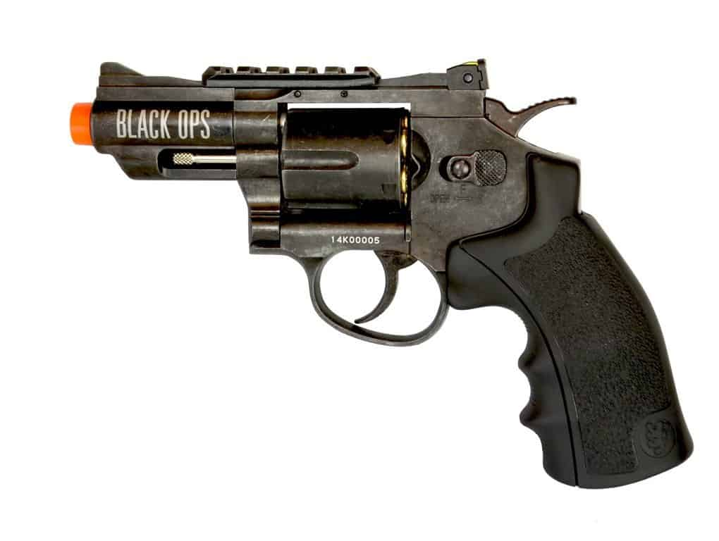 black ops airsoft revolver