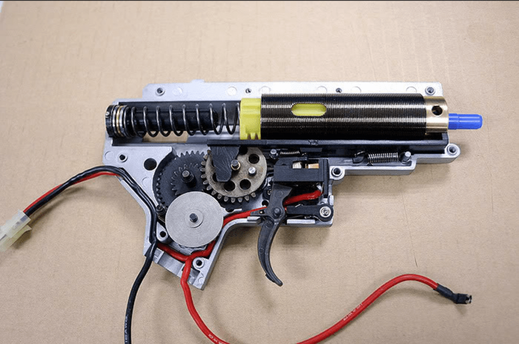 electric airsoft pistol inside