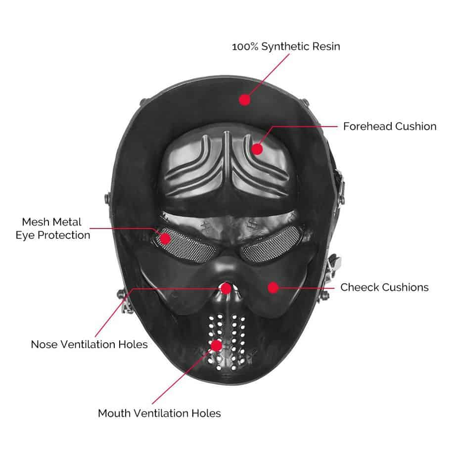 inside of mask