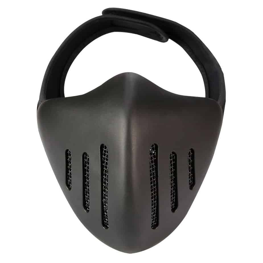 front view vent mask