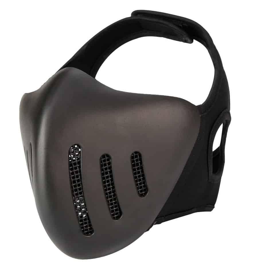 angle of vent mask