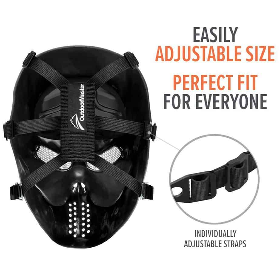adjustable strap on mask