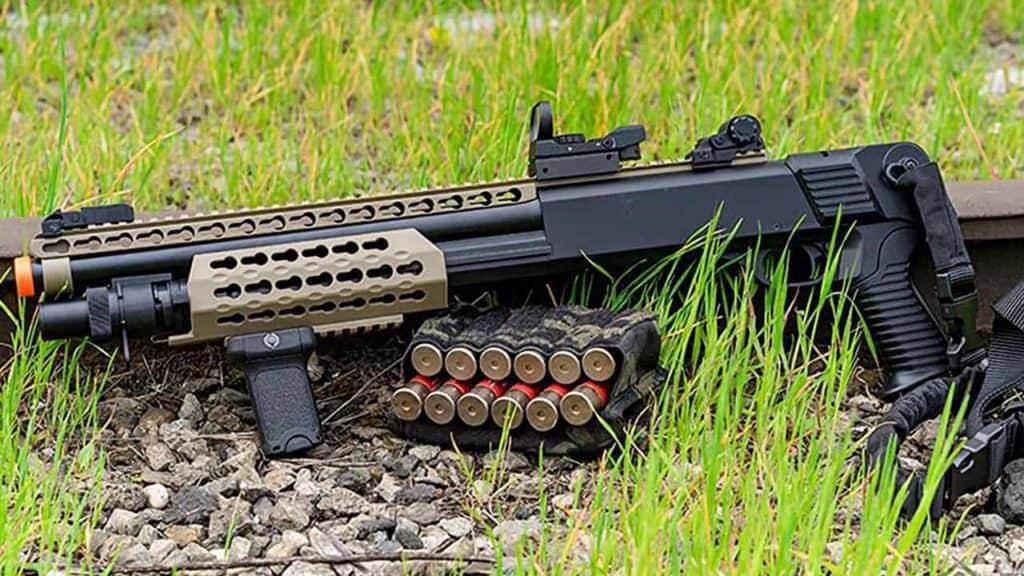 airsoft shotgun with pellets