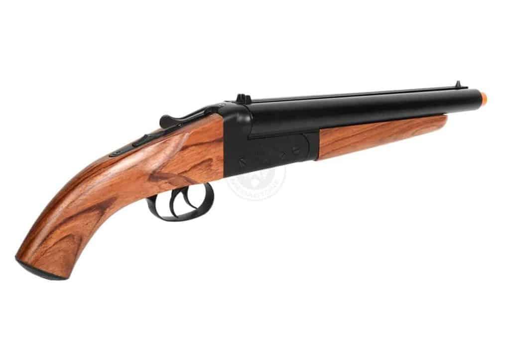 double barrel airsoft shotgun