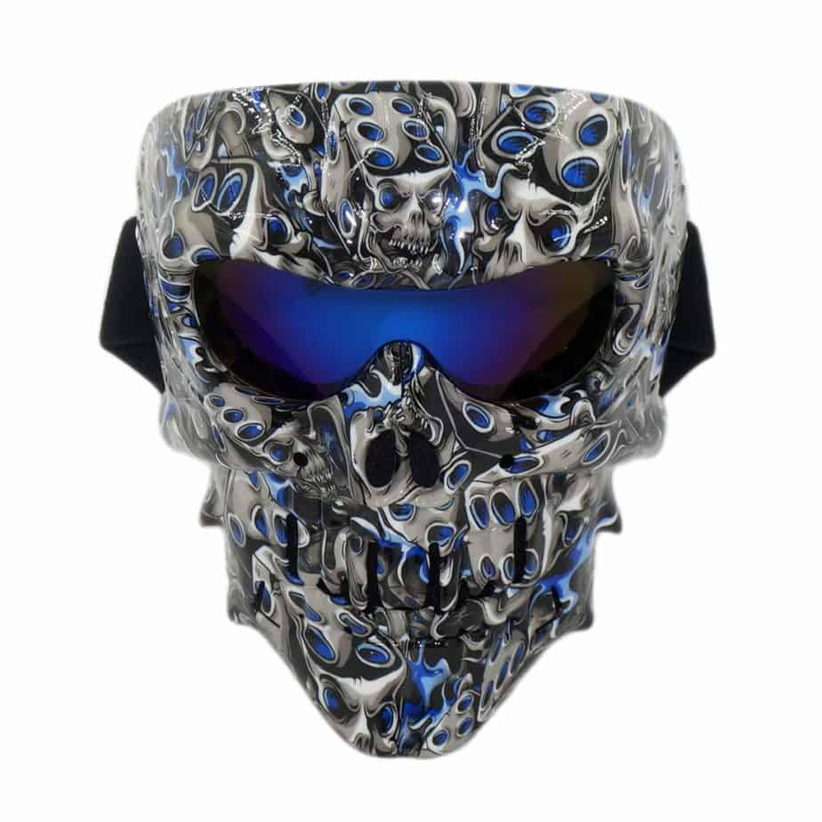 skull protective mask